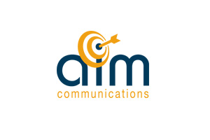 <strong>AIM Communications<span><b>in</b>Partners</span></strong><i>→</i>